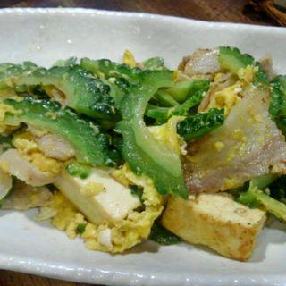ゴーヤチャンプルー(菜酒家FU-KU (サイシュヤ・フク))