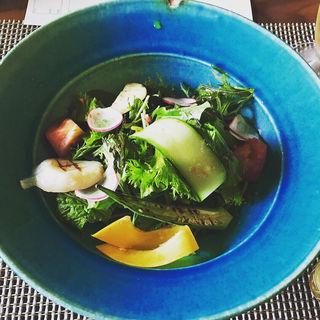 朝採り野菜のサラダ(プレーゴ籐吉 (PREGO TOKICHI))