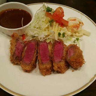 ヘレビーフカツ(洋食SAEKI (ヨウショクサエキ))