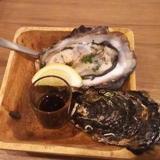 炙り牡蠣(大衆ビストロ one's kitchen 武蔵小杉店)