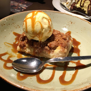 FRESH APPLE COBBLER(ハードロックカフェ 大阪 (Hard Rock CAFE))