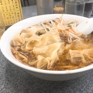 もやしワンタン麺(喜楽 (きらく))