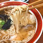 九州で食べる本場のとんこつラーメン
