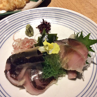 〆鯖の炙り
