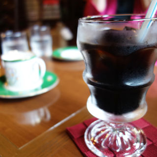 アイスコーヒー(三和珈琲館 六本松店)