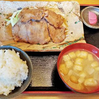 網焼き 牛たん定食(たん丸 )