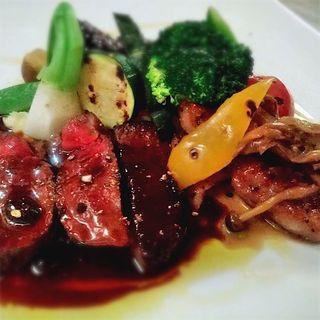 道産肉3種盛り合わせ(Bistro 清水亭)