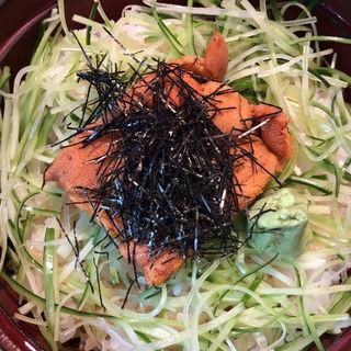 生ウニ丼(青山 きくまさ )