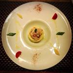 登別産本ズワイガニとメークインのポテトサラダ わさび風味