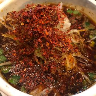 汁あり担々麺(雲林坊 秋葉原店 (ユンリンボウ))