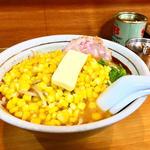 味噌バターコーン ハーフ(すすきの亭 御器所店 (すすきのていごきそてん))