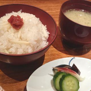 新生姜の釜めし(作一 本店 (さくいち))