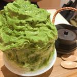 抹茶のかき氷(MACCHA HOUSE 抹茶館)