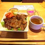 肉屋直送! ハラミ&カルビ丼(みみずく25)
