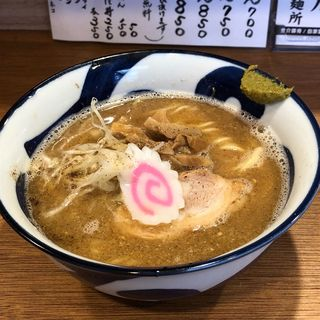 飛出汁ラーメン(吉み乃製麺所)