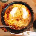 かつ鍋定食(はせ川 )