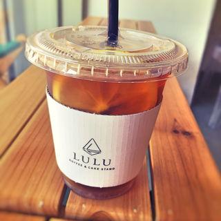 レモンソーダコーヒー(LULU COFFEE & CAKE STAND)