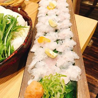 ハモ鍋(紀州さかなや)