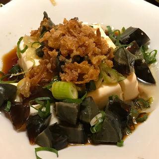 ピータン豆腐のゴマ風味(香港楼 )