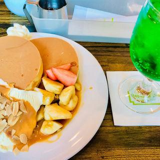 キャラメルバナナホットケーキ(repose  Sugi)