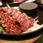 サガリステーキ(もつ鍋 天神ホルモン)