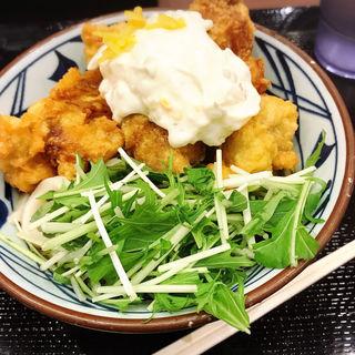 タル鶏天ぶっかけ(丸亀製麺 品川店 (まるがめせいめん))