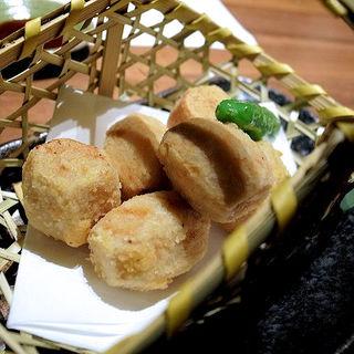 里芋の唐揚げ(つくね侍 さかのうえ)