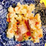 厚切りベーコンのポテトサラダ