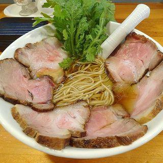 醤油ら~めん 炭火焼チャーシュー増し(極汁美麺 umami)