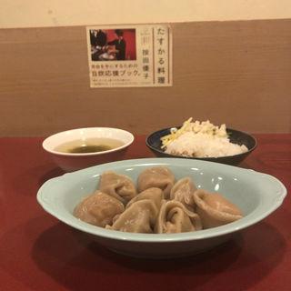 水餃子定食(按田餃子)