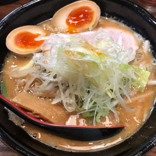 辛味噌らーめん+奥久慈味玉(麺処 花田 池袋店 )