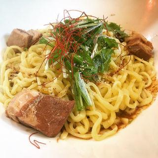 汁なし坦々麺(紅蠍 (RED SCORPION))