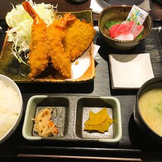 ミックスフライ定食(錦糸町高はし )