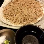 ざる蕎麦(焼鳥はなび)