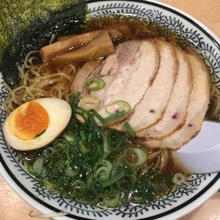 (熟成醤油)丸源チャーシューメン麺大盛り(丸源ラーメン 練馬関町店 )