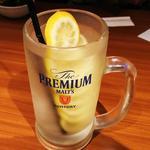 丸ごと凍らせレモンサワー