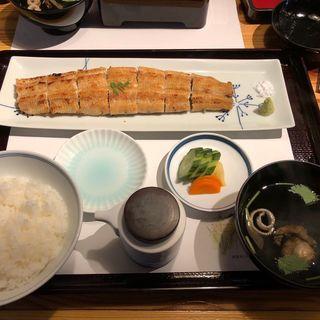 白焼き膳(うなぎ処 山道)