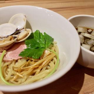 はまぐりのつけ麺(中華蕎麦 あさつゆ)
