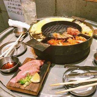 大トロ寿司(立喰☆焼肉 瑞園 天満店)