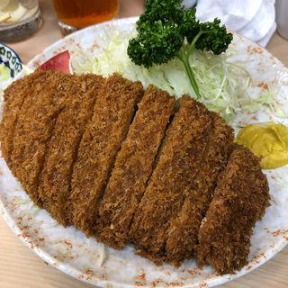 トンカツ定食(丸八とんかつ 支店 )