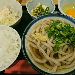 朝定食(そば喜邐 山く (ソバキリ サンク))