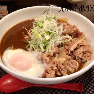 牛肉温玉カレーうどん(うどん ごう )