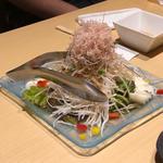 山芋と梅の大根サラダ