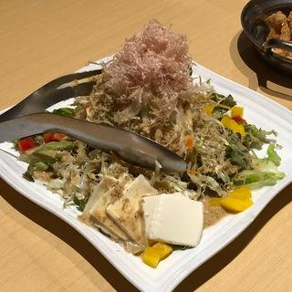 豆腐サラダ(一鴻 姫路店 )