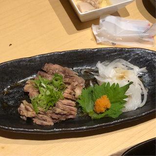 阿波地鶏ひねポンスライス(一鴻 姫路店 )