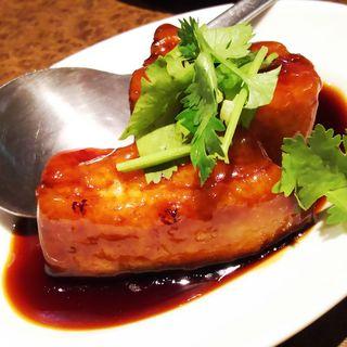 黒酢豚(ハーフ)(土間土間 武蔵溝の口店 (どまどま))