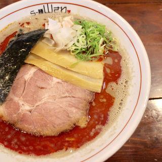濃厚カラニボ(らー麺 山さわ)