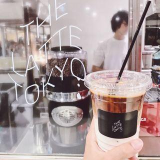 カフェラテ(THE LATTE TOKYO)