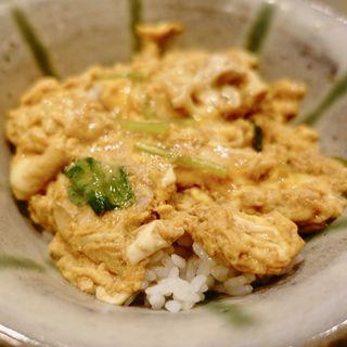 親子丼(ミニ)(うさみ亭マツバヤ (うさみていまつばや 松葉家))
