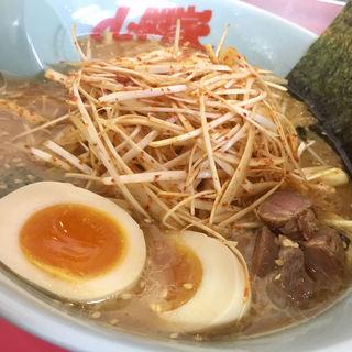 味噌ピリ辛ネギラーメン(ラーメン山岡家 狸小路4丁目店)
